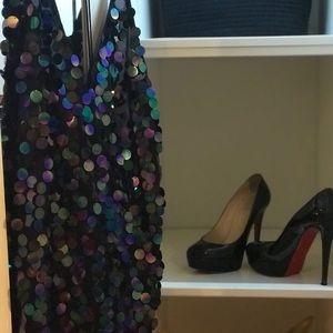 Motel Rocks Dresses - NWT sequin Motel Rocks dress, size small black